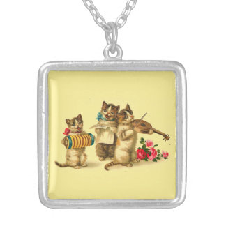 Catnip Cabaret Square Necklace