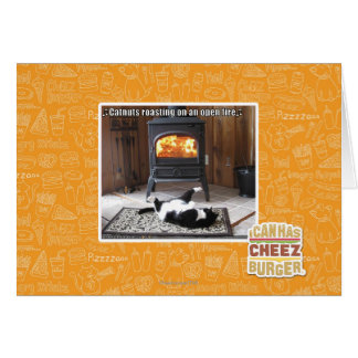 Catnuts roasting card