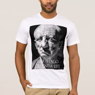 Cato the Elder - CARTHAGO DELENDA EST T-Shirt