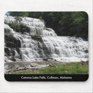 Catoma Lake Falls Mousepad