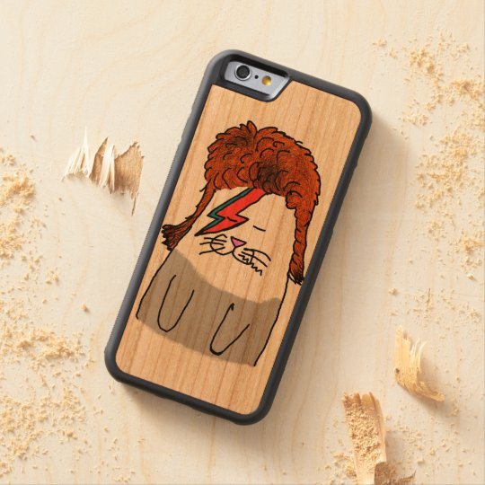 Catowie  iPhone 6/6s Bumper Cherry Wood Case