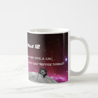 Catpollo 12, One Giant Leap Coffee Mug