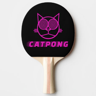 Catpong (Pink) Ping Pong Paddle
