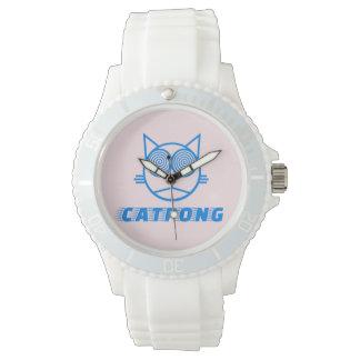 Catpong - Powder Pink Watch