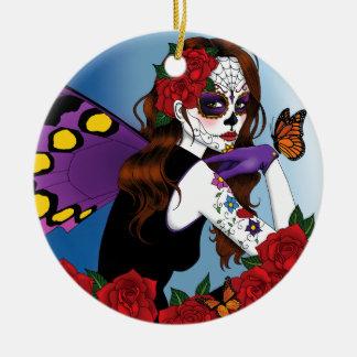 Catrina Ceramic Ornament