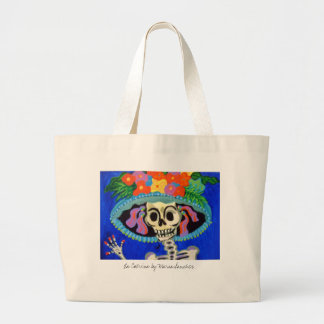 Catrina, La Catrina by Maria Sanchez Large Tote Bag