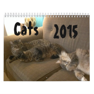 Cats 2015 Marlowe, Peepers & Gryphon Calendars
