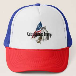 """Cats Against Trump"" Hat"
