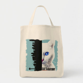 Cat's Anatomy Tote Bag