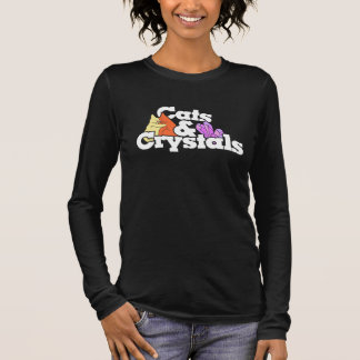 Cats and Crystals Long Sleeve T-Shirt