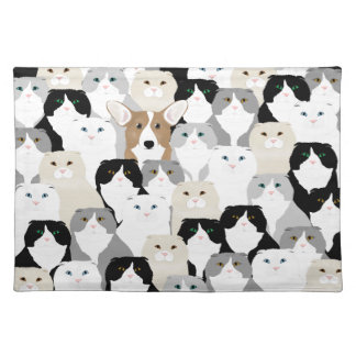 Cats and Dogs Placemat