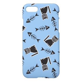 Cats and Fish Bones iPhone 7 Case
