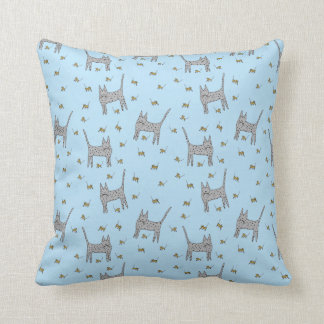 Cats and Mice Pillow