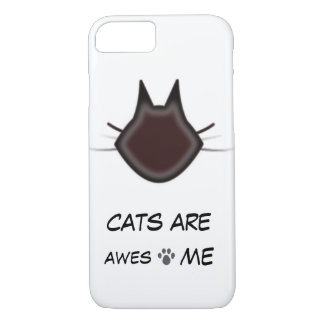 Cats are awesome iPhone 8/7 case
