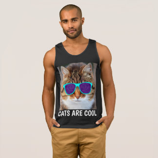 CATS ARE COOL, Funny Cat T-shirts