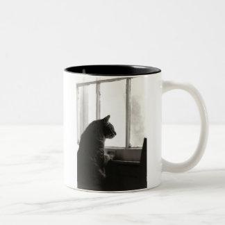 Cats at Window Mug
