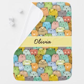 Cats Baby Fleece Blanket