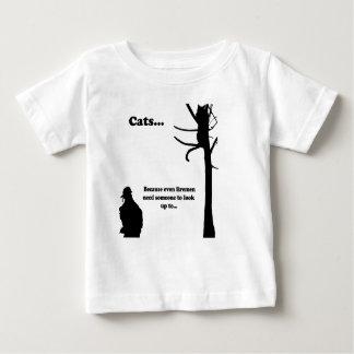 Cats...Because even Firemen Baby T-Shirt