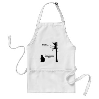 Cats...Because even Firemen Standard Apron