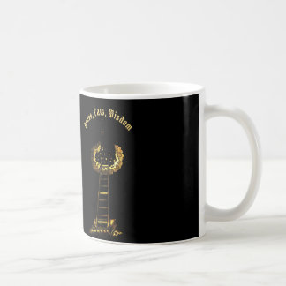 Cats, Books, Wisdom Coffee Mug