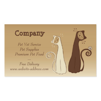 Cats Business Card