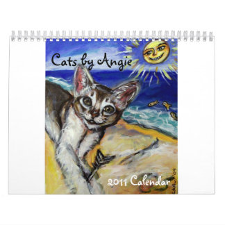 Cats by Angie 2011 calendar