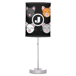 Cats, Cats & Cats Table Lamp