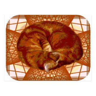 Cat's Cradle Postcard
