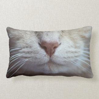 Cat's Cushion, humour Lumbar Pillow