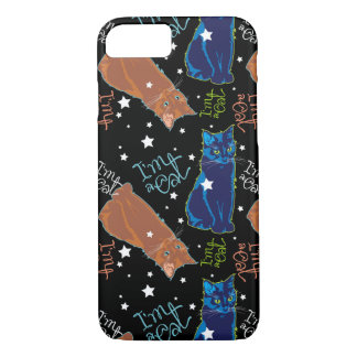 Cats don't sleep at night iPhone 7 case