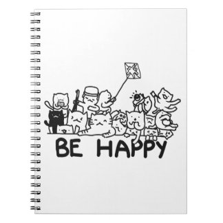 Cats Doodle Notebook (80 Pages B&W)