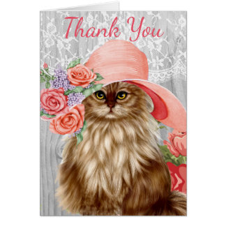 Cats Dressed in Hats Notecards Card