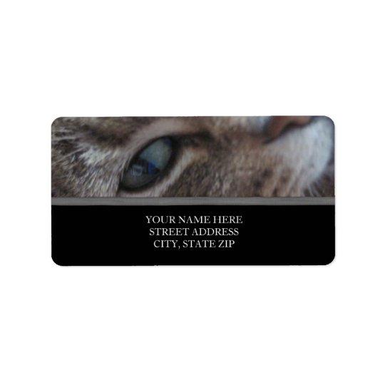 Cat's Eye Address Labels