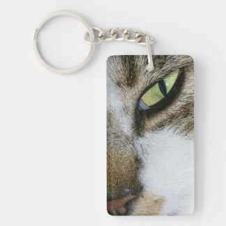 Cat's eye keychain