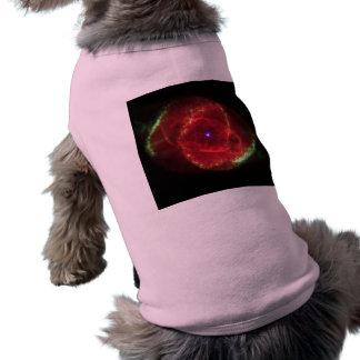 Cat's Eye Nebula Dog T Shirt