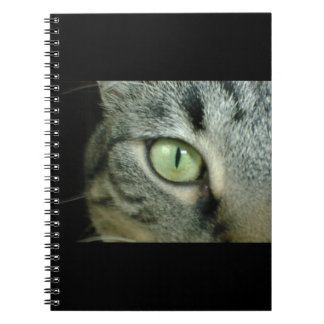 ***CAT'S EYE***SPIRAL NOTEBOOK
