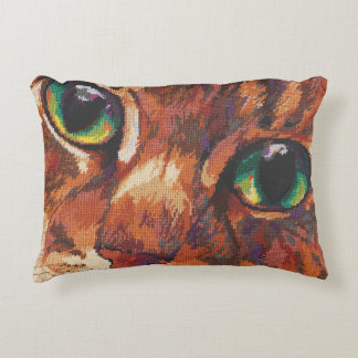 Cat's Eyes Decorative Pillow