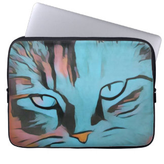 Cats eyes laptop sleeves