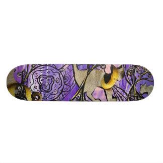 Cats Eyes Skateboard
