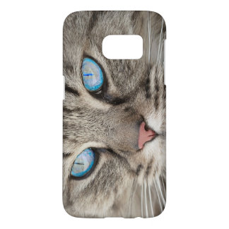 Cat's Face Blue - Eyed Cat Samsung Galaxy S7 Case