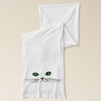 Cat's Face Scarf