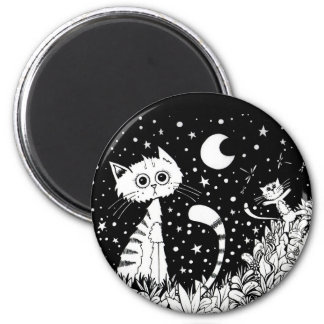 Cats Fascination Magnet
