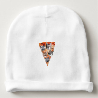 Cats For the Pizza-Lover Baby Beanie