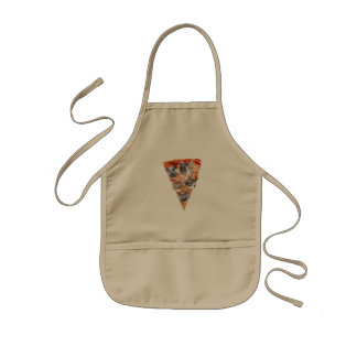 Cats For the Pizza-Lover Kids Apron