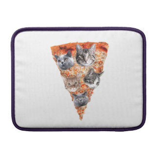 Cats For the Pizza-Lover MacBook Sleeve