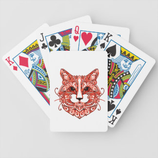 Cat's Head 2 Bicycle Playing Cards