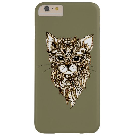 Cat's Head 3 Barely There iPhone 6 Plus Case