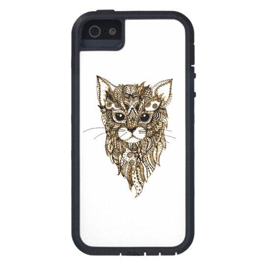 Cat's Head 3 iPhone 5 Cases
