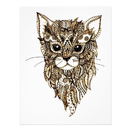 Cat's Head 3 Letterhead