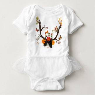 Cat's Horns Baby Bodysuit